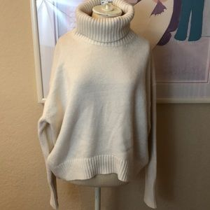 H & M Oversized Turtle Neck Pull Over Sweater